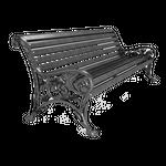 Кованные и литые лавочки и скамейки