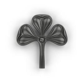 Лист - литой декоративный элемент орнамента для ковки