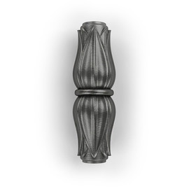 Крон - чугунная литая вставка для балясин