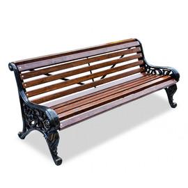 Ажур - чугунная скамейка без подлокотников от производителя