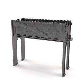 Старый замок - разборный чугунный мангал от производителя