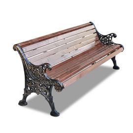 Ажурная Бордо - чугунная скамейка с подлокотниками
