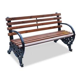 Карусель - чугунная скамейка с подлокотниками